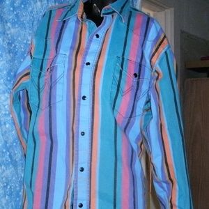 #457 Two Wrangler Button Up Shirts
